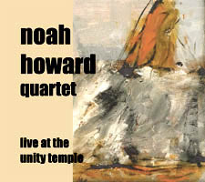 Live at the Unity Temple - CD cover art