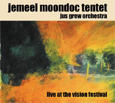 Live at the Vision Festival - CD cover art