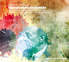 Monologue de Schönberg - CD cover art