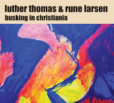 Busking in Christiania - CD cover art
