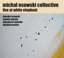 Live at White Elephant - CD cover art