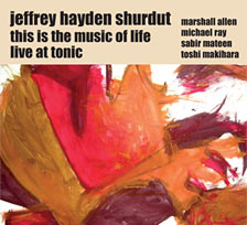 Live at Tonic - CD cover art