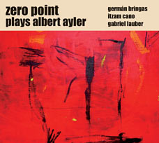 Plays Albert Ayler - CD cover art
